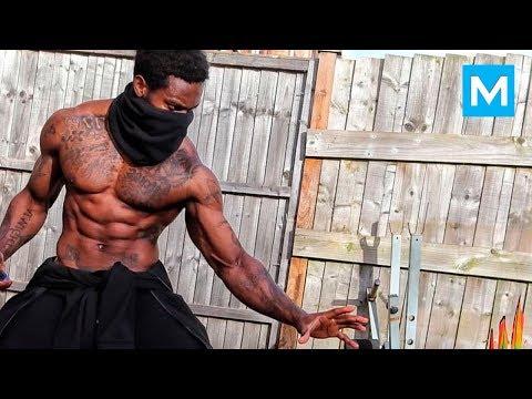 REAL NINJA with Crazy Skills – Giga Uguru | Muscle Madness